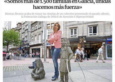 Entrevista en la Voz de Galicia