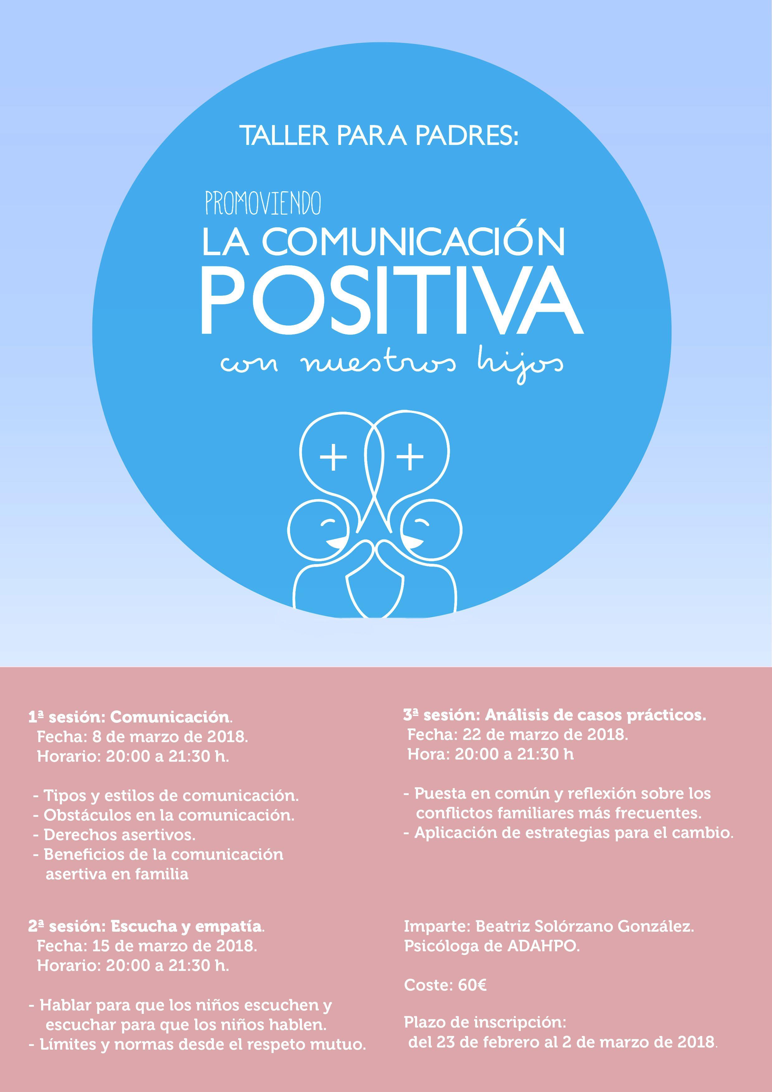 taller promoviendo la comunicación positiva